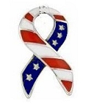 Remember the Military Ribbon Floating Charm